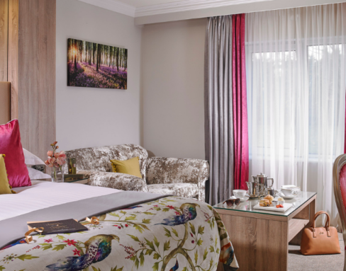 Fitzgeralds Woodlands House Hotel Deluxe Room
