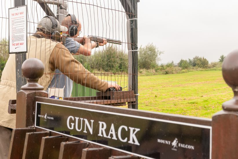 Mount Falcon Estate Clay Pigeon Shooting 1
