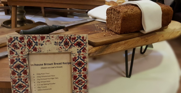 Brooks Hotel Brown Bread