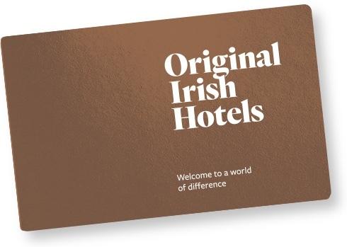 Hotel Gift Vouchers Ireland A Gift Of Distinction Original Irish